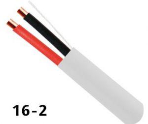 Haut-parleur, grade builder 16AWG 2 conn. Ft4, 500pi., blan