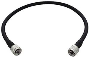 2' SC400 Ultra Low Loss Coax Cable with N-Male connectors