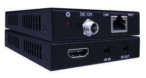 HDBaseT Slim Extender 4K/60Hz 130ft/40m, 1080p 230ft/70m HDC