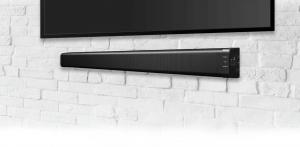 Steerable Microphone Array Speaker System-Black