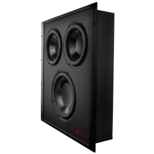 In-Wall Passive Subwoofer with Enclosure
