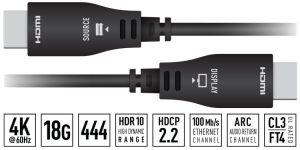 66' HDMI Fiber Hybrid Cable