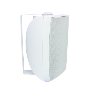 6.5 in Outdoor Cabinet Speaker White PAIR