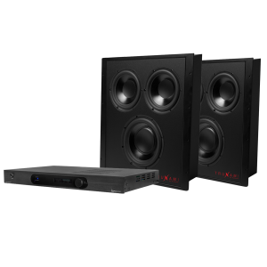 2 Trunami In-Wall Subwoofers and Subwoofer Amplifier Package