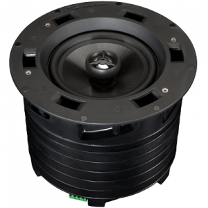 25/70/100 volt In Ceiling 8 inch 2-way Fluted IMPP 1 inch AL