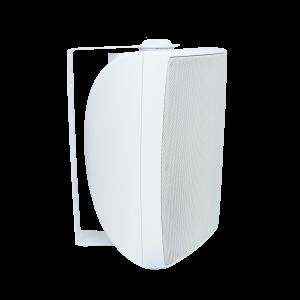 6.5 in Outdoor Cabinet Speaker White PAIR