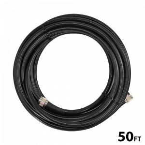50' SC400 Ultra Low Loss Coax Cable with N-Male connectors