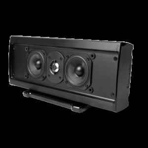 Slim LCR Speaker Dual 3.5in Woofers 1in Aluminum Dome Tweete